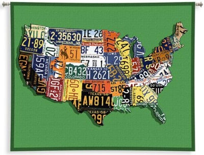 Usa Tags Sm Wallhanging (Wall Hanging)