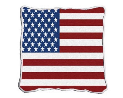 American Flag Pillow (Pillow)