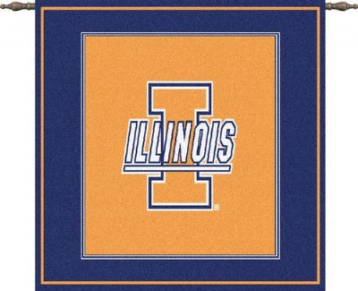 University Illinois I Mark Wh Woodr (Wall Hanging)