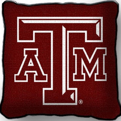 Texas A&M Logo Pillow  (Pillow)