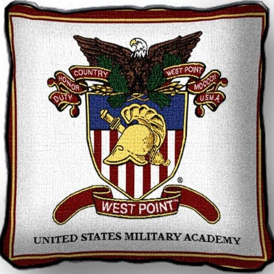 University West Point Crest P  (Pillow)