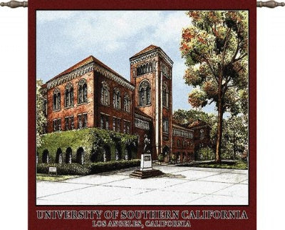 University South Cal Bovard Wood Rd (Wall Hanging)