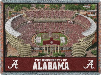 University Alabama Stadium (Tapestry Throw)