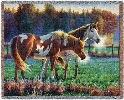 Pasture Buddies (Tapestry Throw)