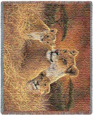 Motherly (Tapestry Throw)