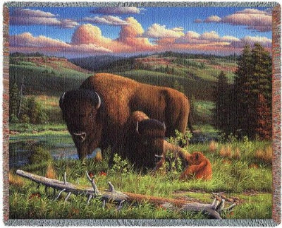 Buffalo Nation (Tapestry Throw)