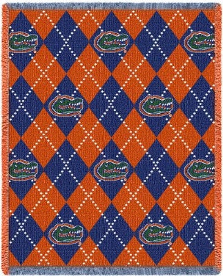 University Fla Mascot Plaid (Afghan)