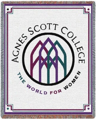 Agnes Scott College (Tapestry Throw)