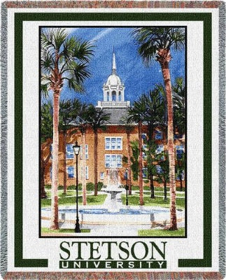 University Stetson University Elizabeth (Tapestry Throw)