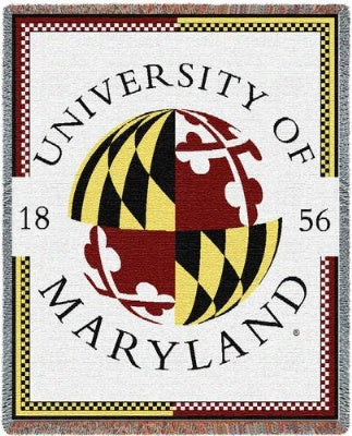 University Maryland Seal (Tapestry Throw)