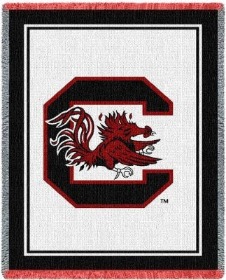 University South Carolina Gamecock (Afghan)