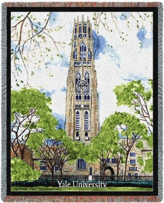 Yale Harkness Tower (Tapestry Throw)