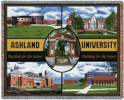 Ashland College Collage (Tapestry Throw)