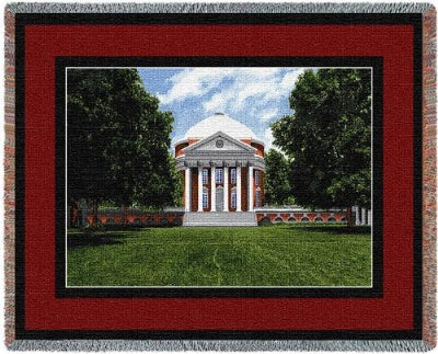 University Of Virginia Rotunda (Tapestry Throw)
