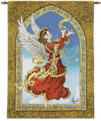 Crimson Angel (Wall Hanging)