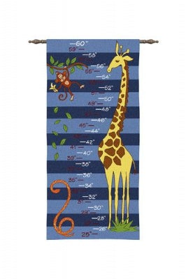 Growth Chart Boy (Wall Hanging)