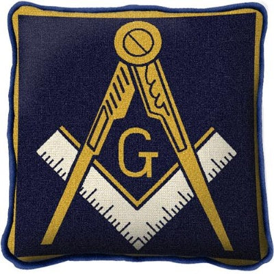 Masonic Emblem Pillow (Pillow)