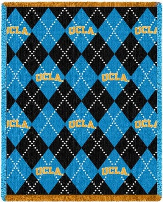 Ucla Plaid (Afghan)