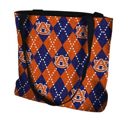 Auburn University Plaid Bag  (Tote Bag)