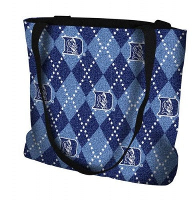 University Duke Un Plaid Bag  (Tote Bag)