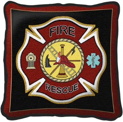 Firefighter Shield (Pillow)