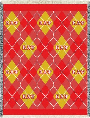 Kappa Alpha Psi Plaid (Afghan)