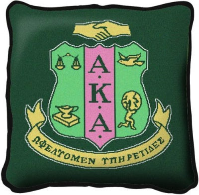 Alpha Kappa Alpha Pillow (Pillow)