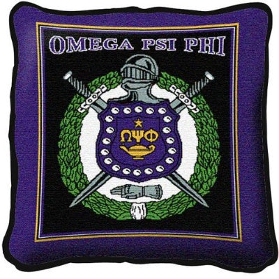 Omega Psi Phi (Pillow)