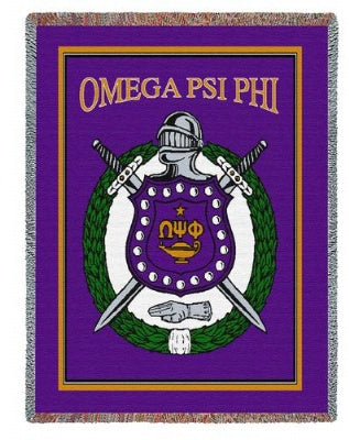 Omega Psi Phi (Tapestry Throw)