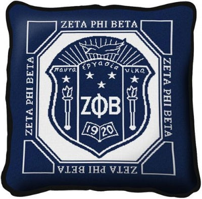 Zeta Phi Beta Pillow (Pillow)