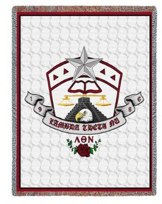 Lambda Theta Nu (Tapestry Throw)