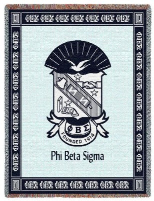Phi Beta Sigma (Tapestry Throw)