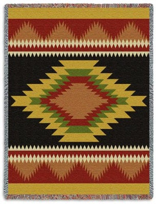 Teec Nos Pos (Tapestry Throw)