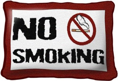 No Smoking (Pillow)