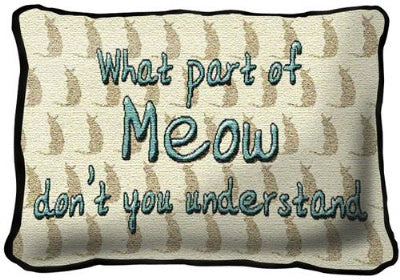 What Part Of Meow (Pillow)