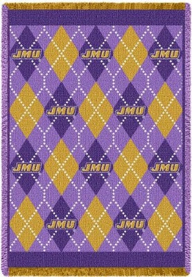 James Madison Un Plaid  (Afghan)