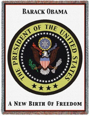 Obama Presidential Seal (Tapestry Throw)
