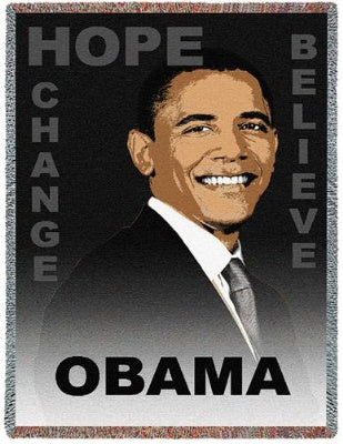 Obama Believe (Tapestry Throw)