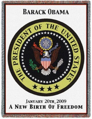 Obama Inauguration (Tapestry Throw)