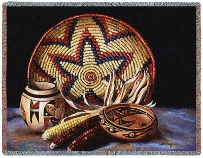 Hopi Harvest (Tapestry Throw)