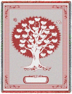 Monogram Tree Cran (Afghan)