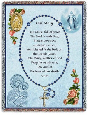 Memorial Rosary (Tapestry Throw)