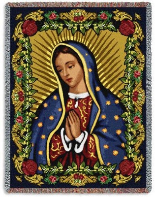 Our Lady of Guadalupe II (Tapestry Throw)