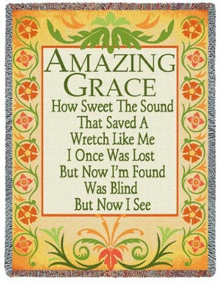 Amazing Grace Decor (Tapestry Throw)