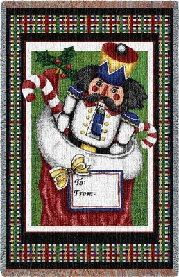 Nutcracker Mini (Tapestry Throw)