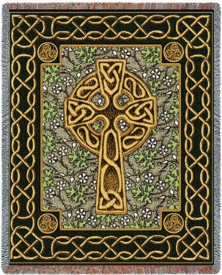 Celtic Cross (Tapestry Throw)