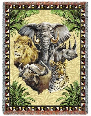 Big Five (Tapestry Throw)
