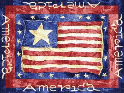 Old Glory Pm (Placemat)