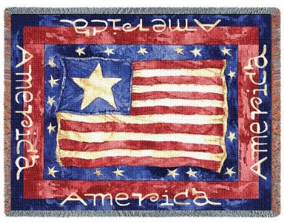 Old Glory (Tapestry Throw)