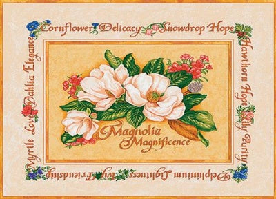 Magnolia Magnificence (Placemat)